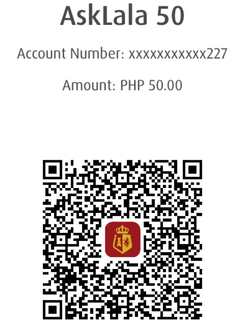 Payment Details (BPI)