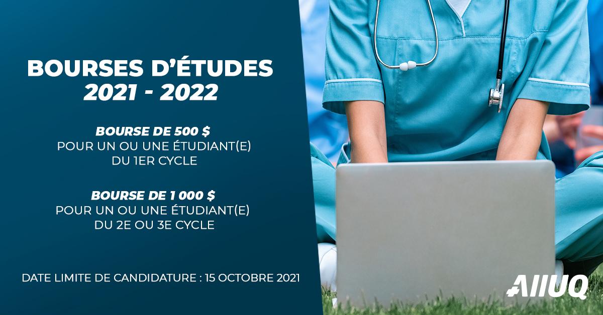 Bourses d'études 2021-2022