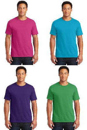 Shirt color choices