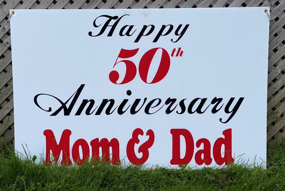 A #1 Happy Anniversary