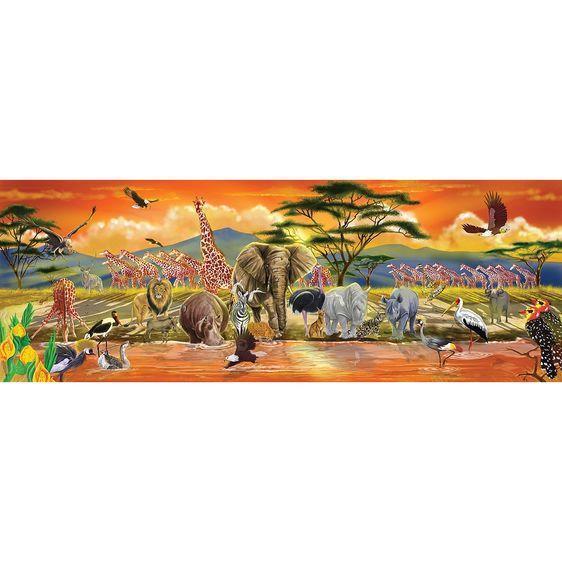 Safari Floor Puzzle 089-2873