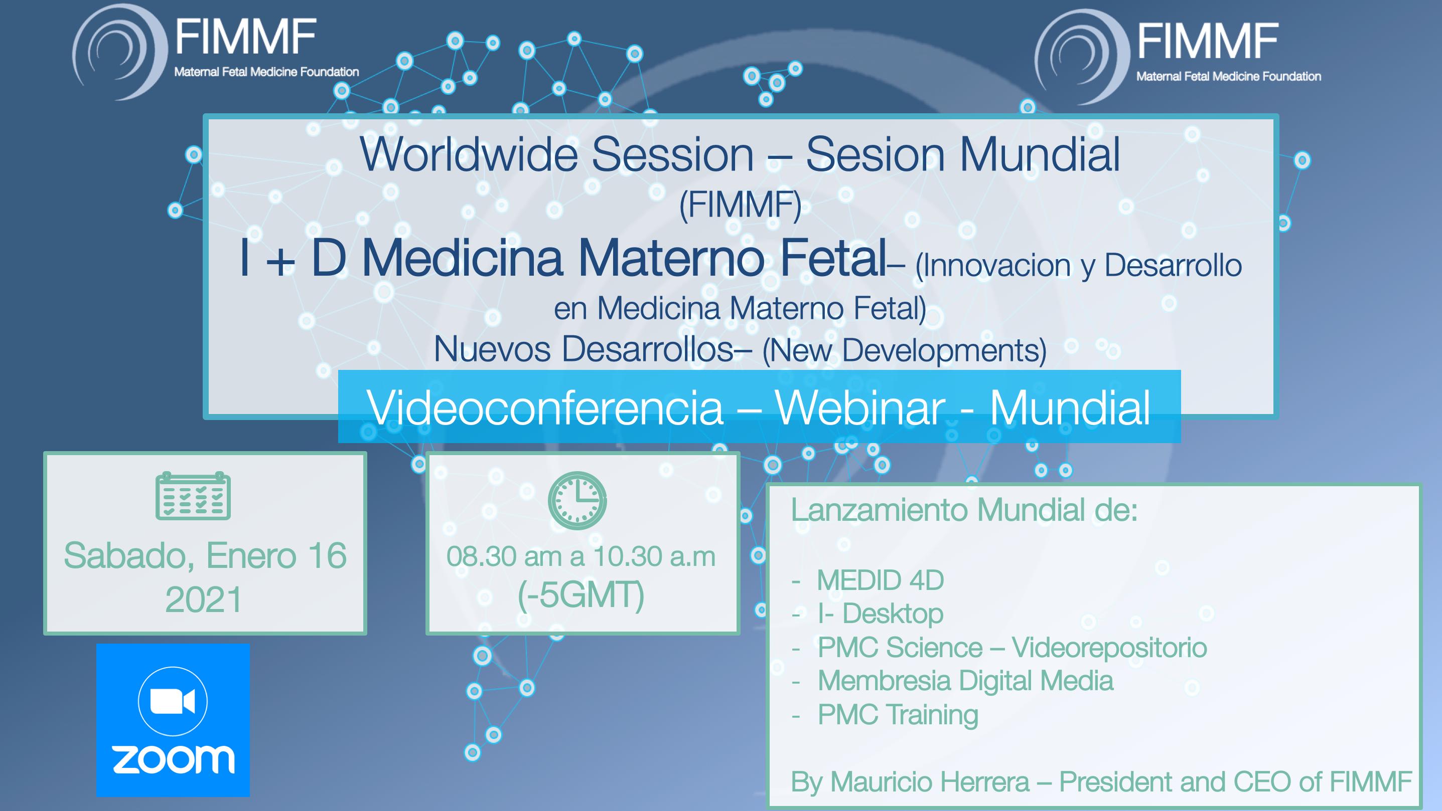 Registry Worldwide session: I + D en Medicina Materno Fetal
