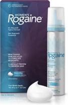 Rogaine pěna pro ŽENY (Minoxidil 5%) - Kúra proti vypadávání vlasů a pro aktivaci růstu silnějších vlasů. Vhodné pro jemné vlasy! Kúra na dva měsíce (60ml)