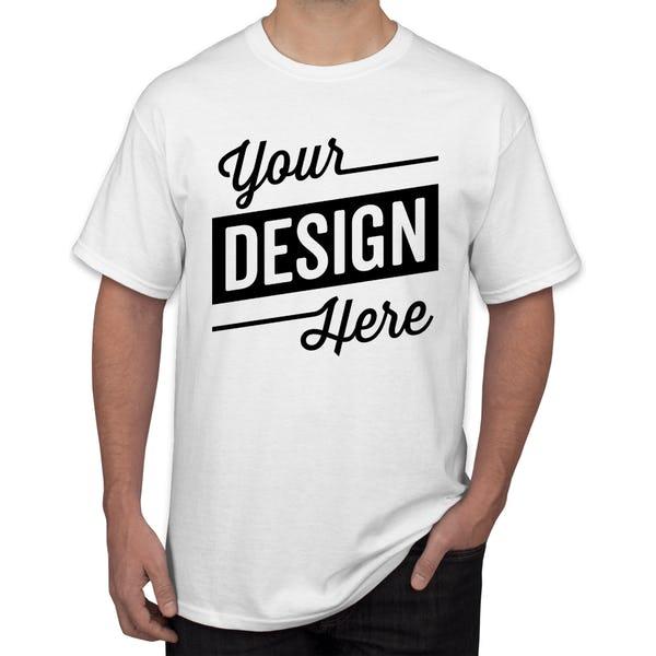 Men's Custom Vinyl Print T-Shirt