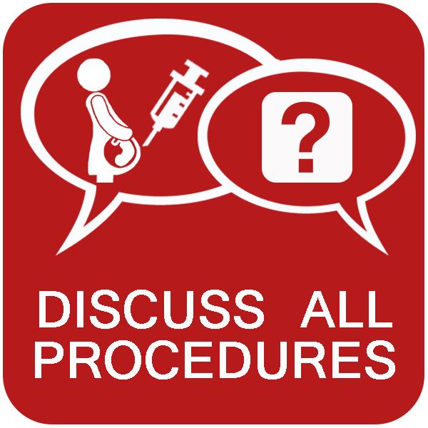 Discuss all procedures
