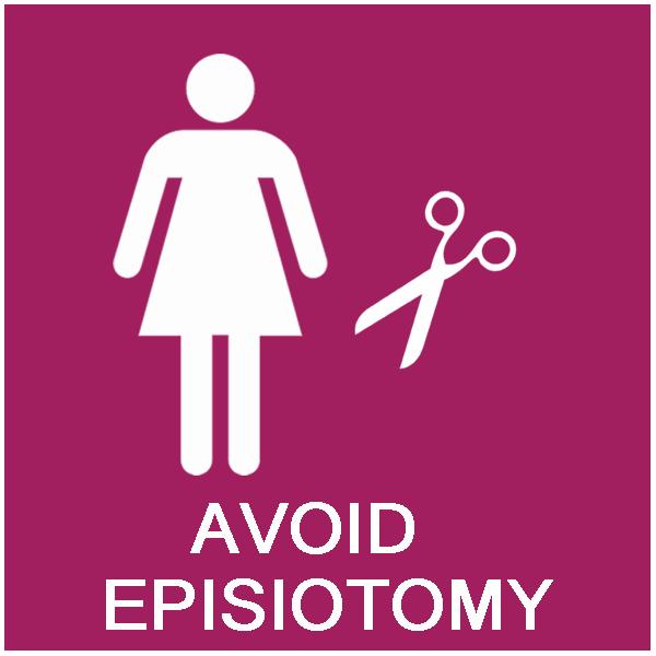 Avoid episiotomy