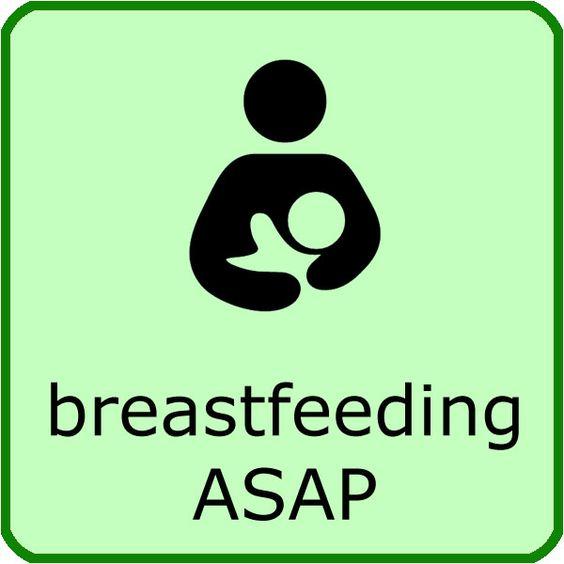 Breastfeeding ASAP