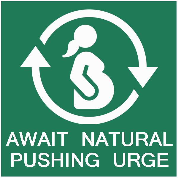 Natural urge to push