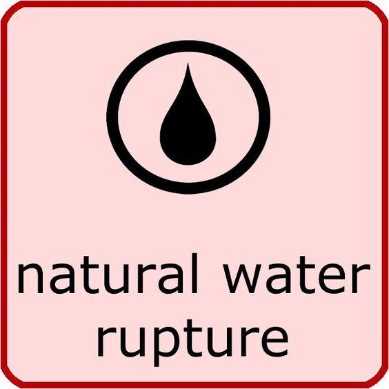 Natural rupture of membranes