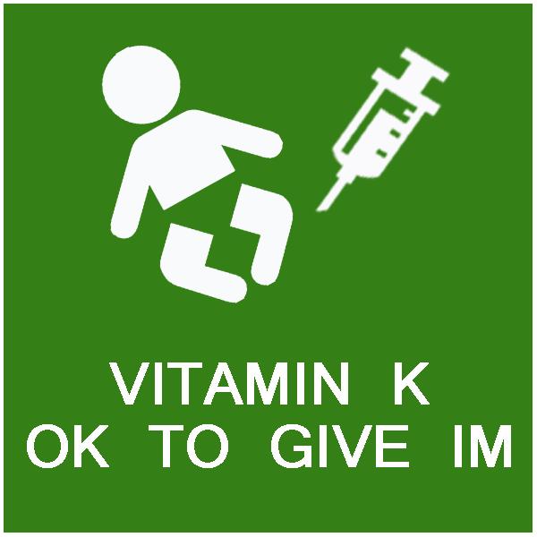 Vitamin K okay to give