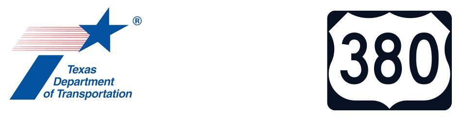 TxDOT and project logos