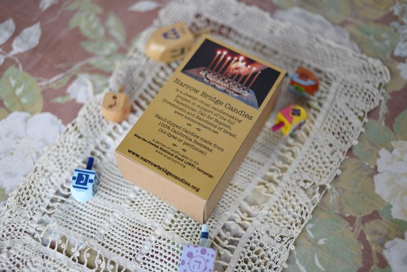 Box of Hanukkah Candles