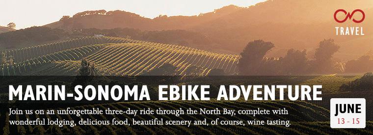 Marin-Sonoma Ebike Adventure