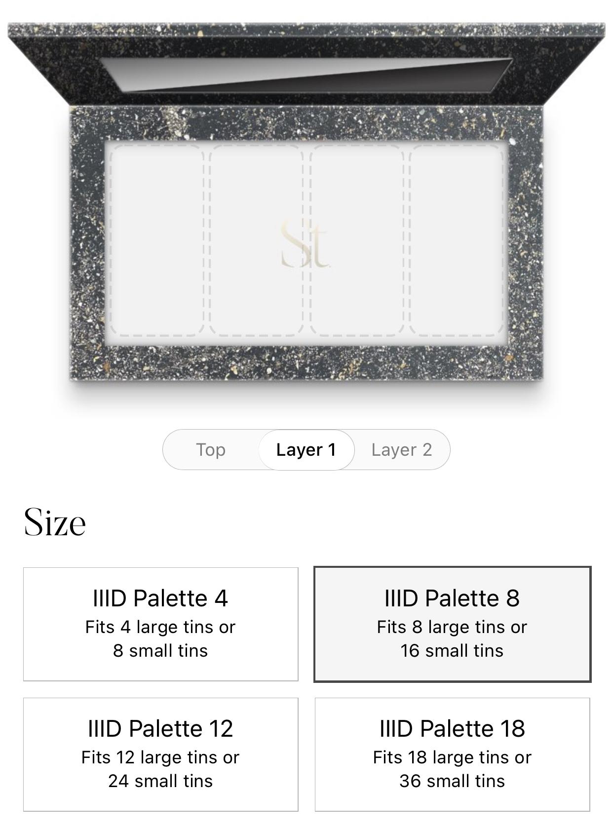 IIID Palette 8