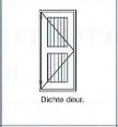 Dichte deur