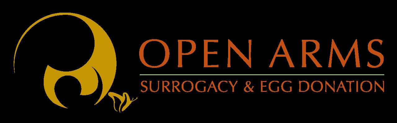 Open Arms Surrogacy Logo