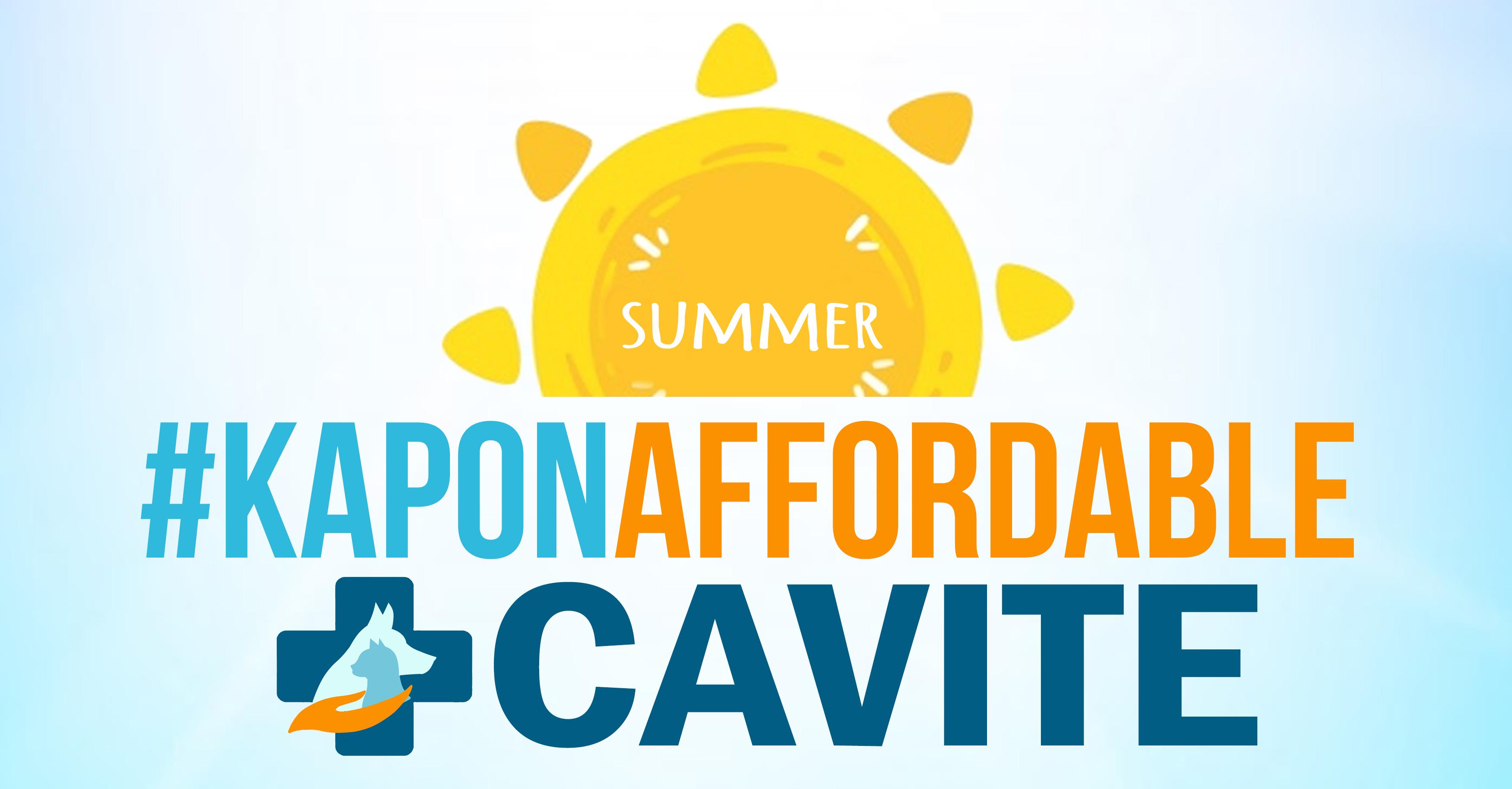 Registration for Cavite KaponAffordable