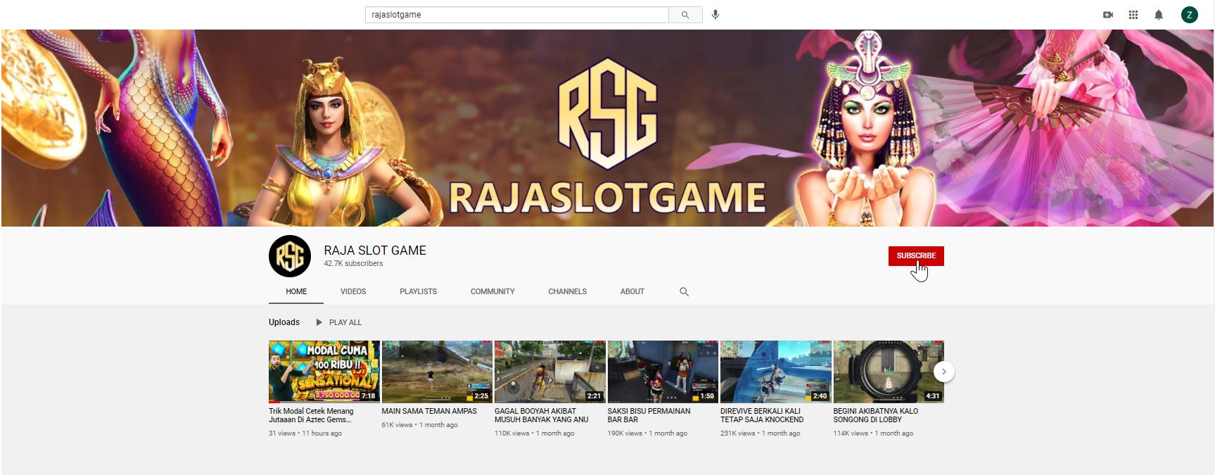wajib subscribe channel youtube kita