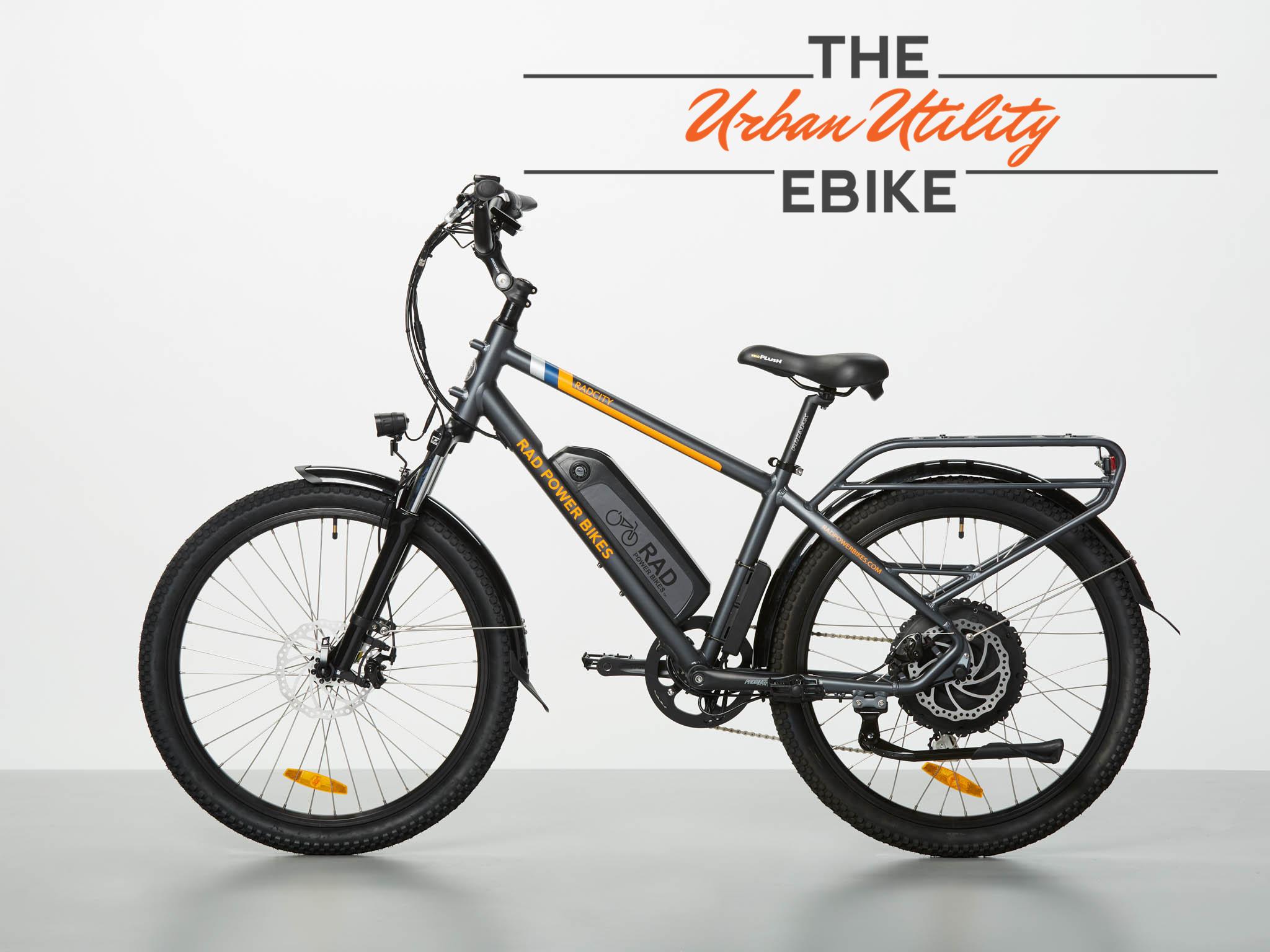 "16"" RadCity Electric Commuter Bike"