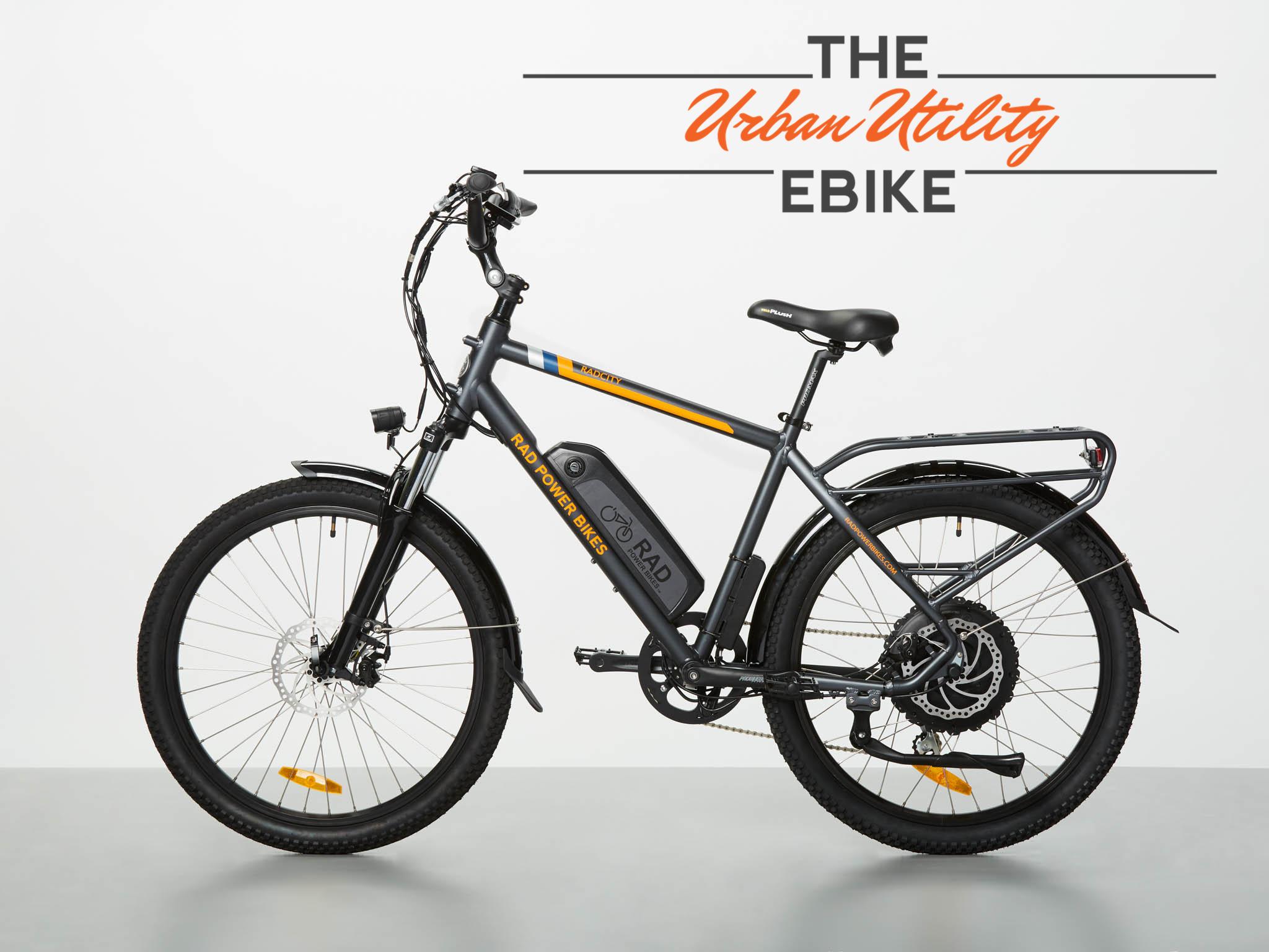 "20"" RadCity Electric Commuter Bike"