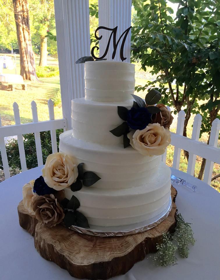 Wedding Cakes by Amanda at Green River Plantation