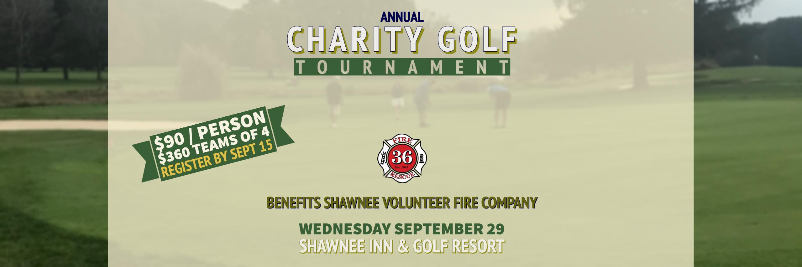 2020 Shawnee Fire Company Charity Golf Tournament