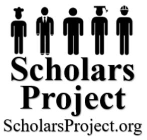Scholars Project Scholarship Application Form