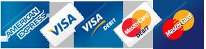 Visa & Mastercard Debits Work Too