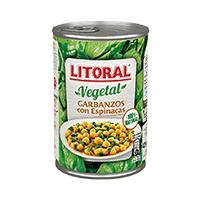 Garbanzos con verduras(430g)