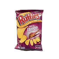 Ruffles jamón (170g)