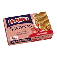 Sardinas en tomate (115g)