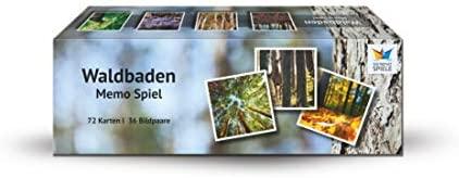 Memoriespiel mit Waldmotiven