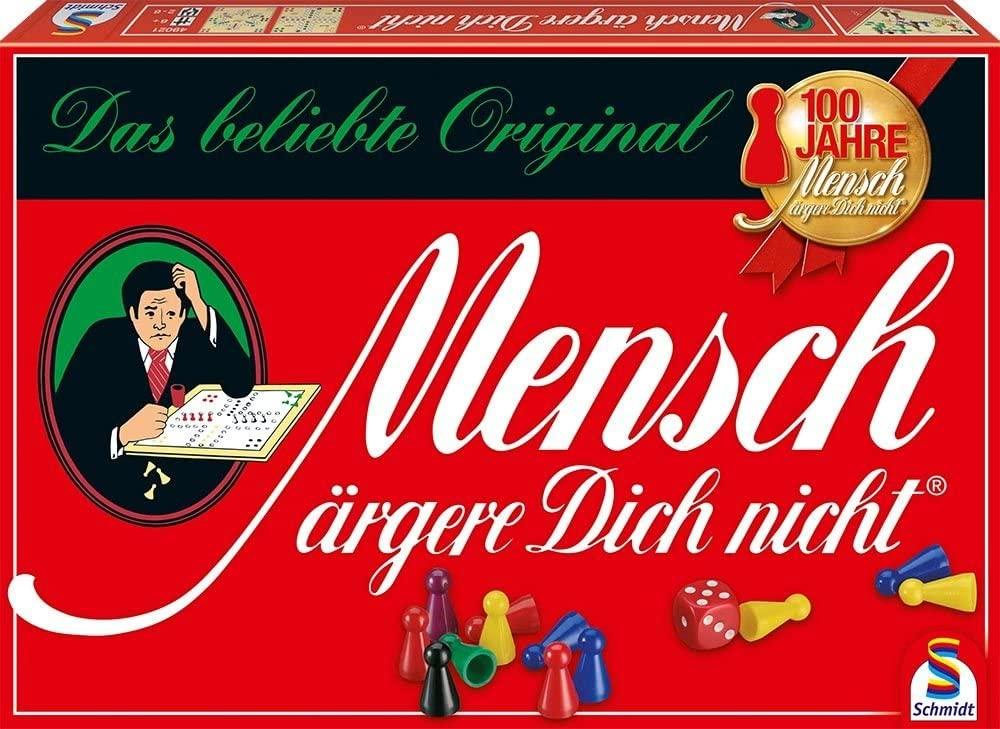 """Klassisches """"Mensch-ärgere-Dich-nicht""""-Spiel"""
