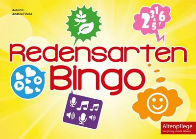 Bingospiel mit Redensarten zu verschiedenen Themen