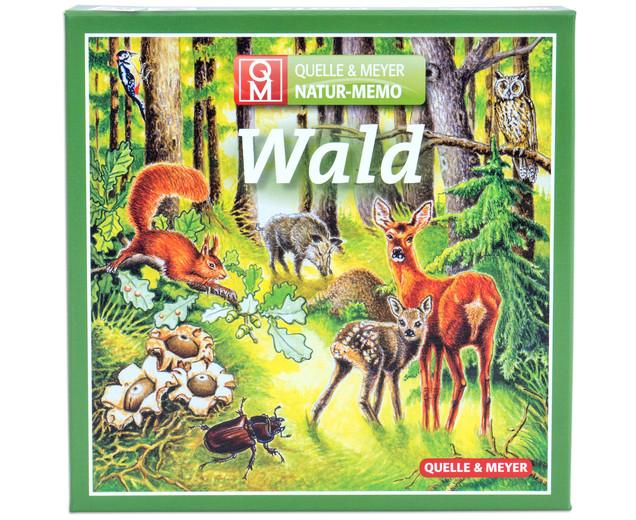 Memoriespiel mit Naturmotiven zum Thema Wald