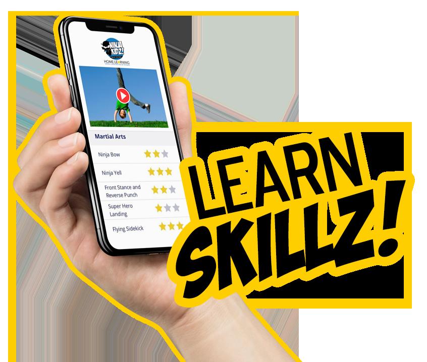 NINJA KIDZ Home Learning | Individual Sign Up 01