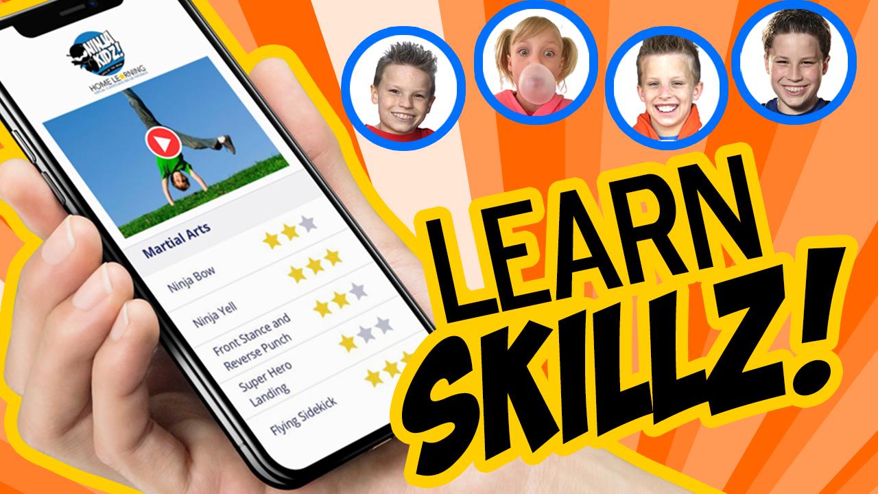 NINJA KIDZ Home Learning   Sign Up
