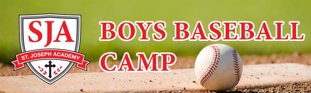 St. Joseph Academy Boys Baseball Camp Registration