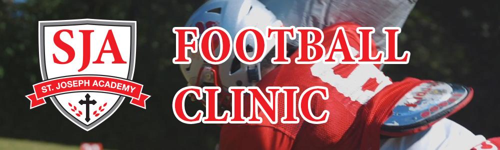 St. Joseph Academy Football Clinic Registration