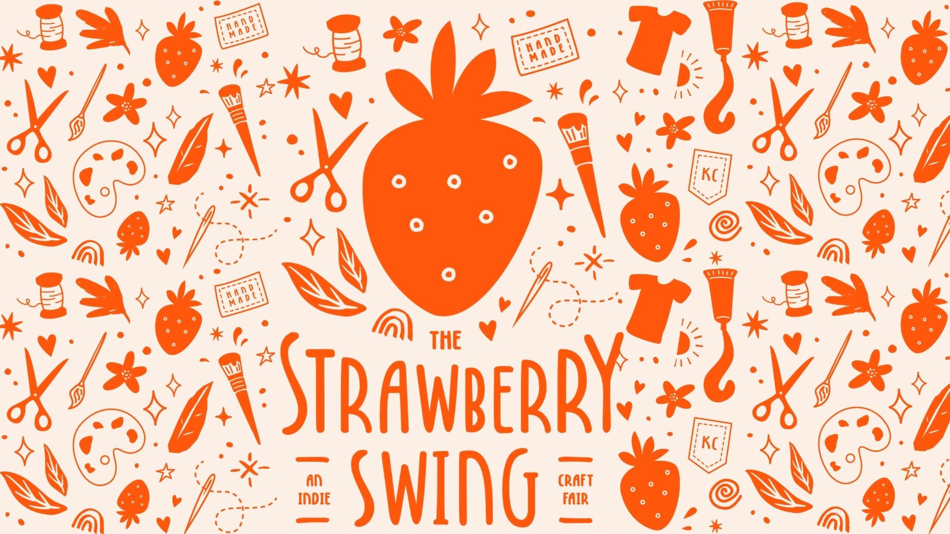 Logo of Strawberry Swing Indie Craft Fair