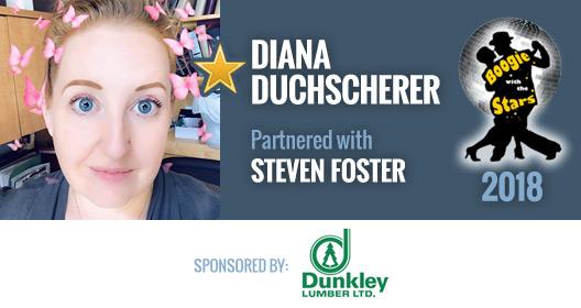 Diana Duchscherer and Steven Foster