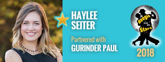 Haylee Seiter and Gurinder Paul