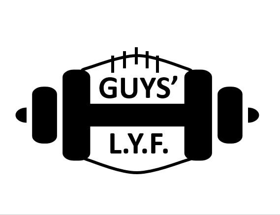 Guys' LYF T-Shirt - Long Sleeve White