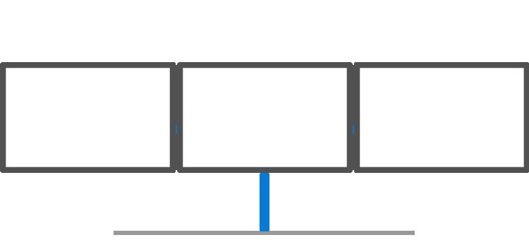 Triple Arm (3 Monitors)